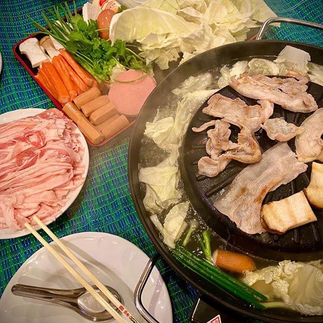 泰式豬肉火鍋(一)